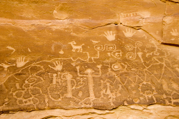 Petroglyphes Anasazi