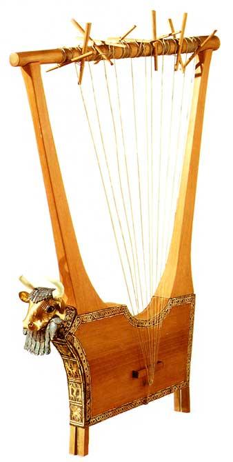 harpe ouvragée