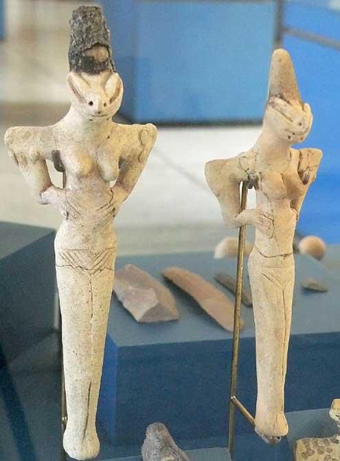 statuettes mésopotamiennes
