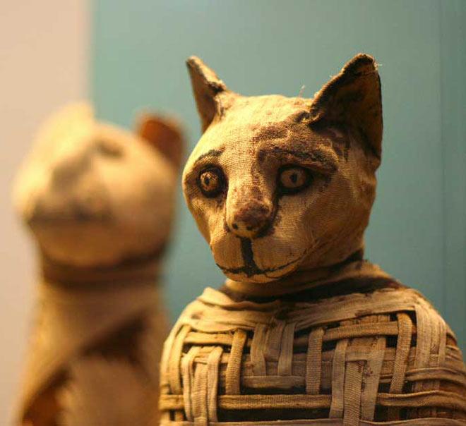 statuette de chat