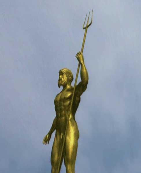 la statue de zeus