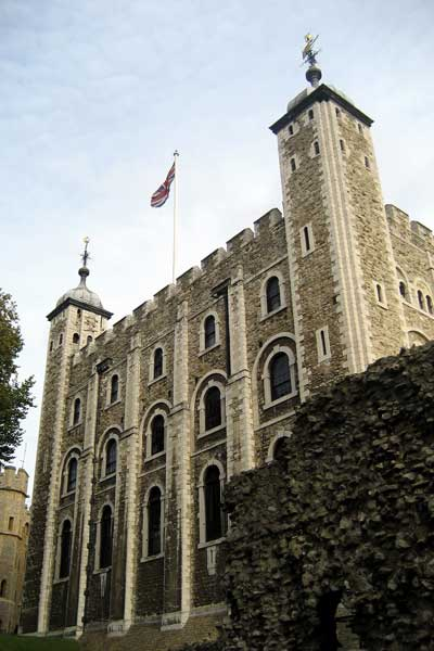White Tower. Tour de Londres