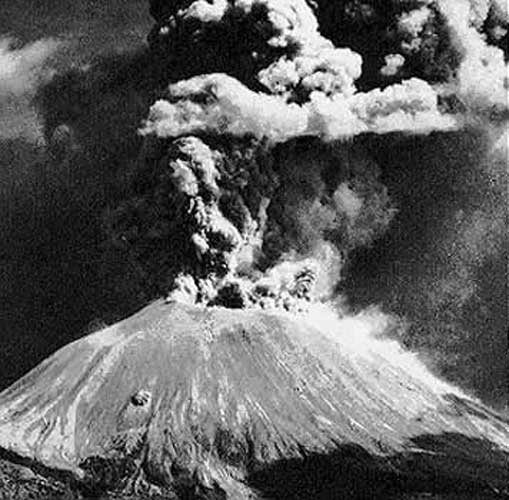 eruption vésuve en 1944