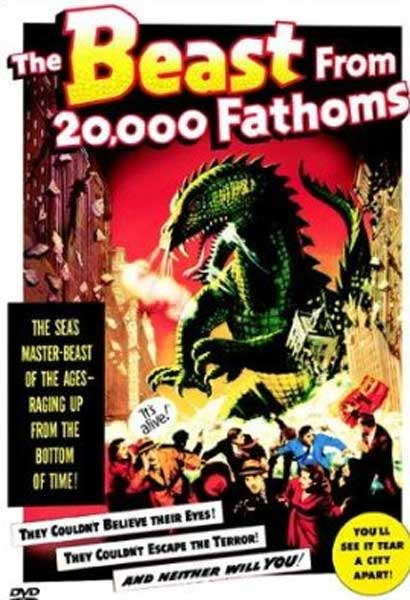 Affiche The Beast from 20,000 Fathoms