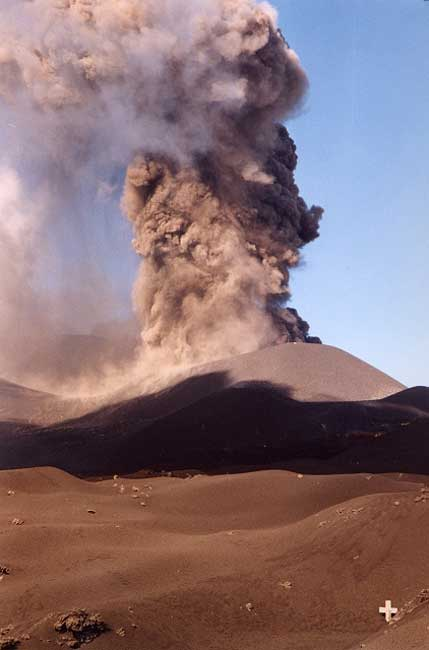 Etna. Eruption en 2002