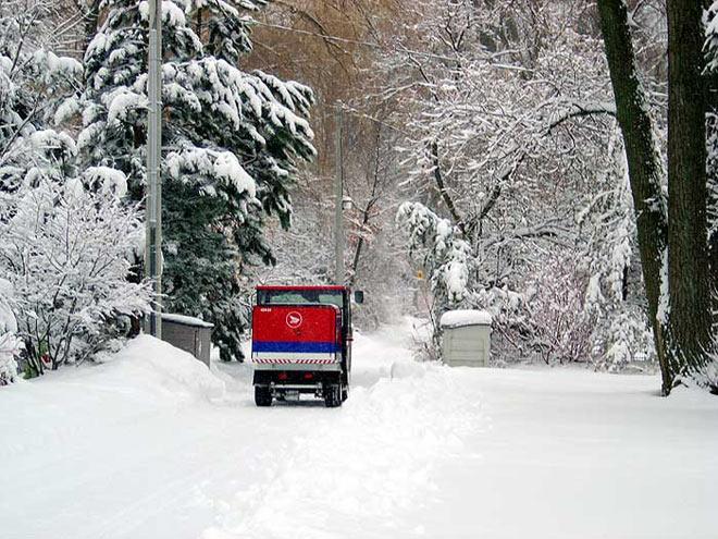 Tempête de neige au Canada