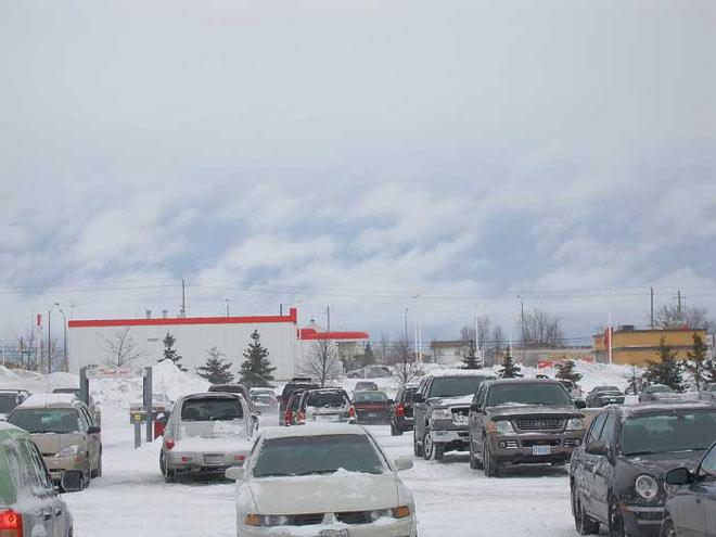 Ontario en hiver