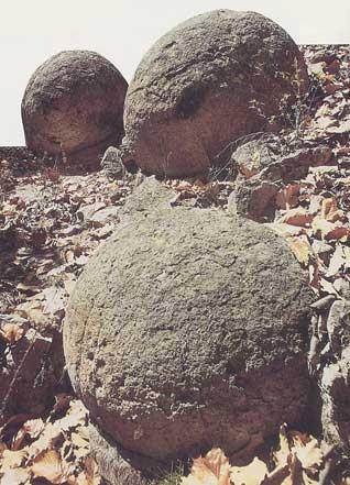 Boule de pierre