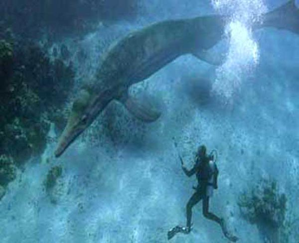 Dinosaure reptile volant marin dans les futures films - Dinosaure marin carnivore ...