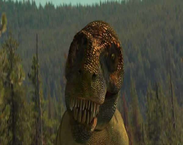 Reconstitution Tyrannosaure