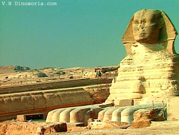 Datation de carbone Sphinx
