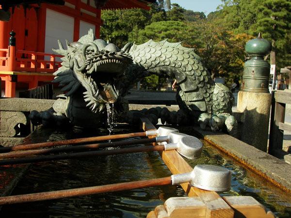 Dragon aquatique chinois