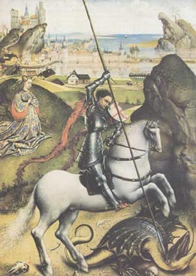 Saint Georges contre le Dragon