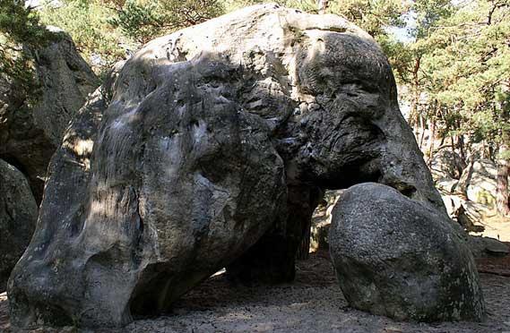 Tombe néolithique de Fontainebleau