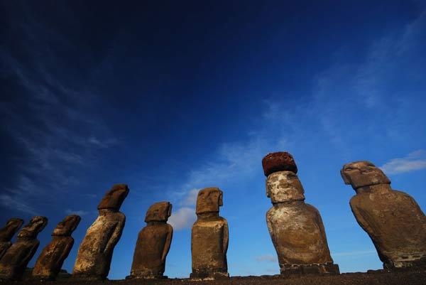 Statues de l'ile de Paques