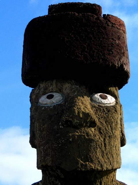 Moai. Ile de Paques