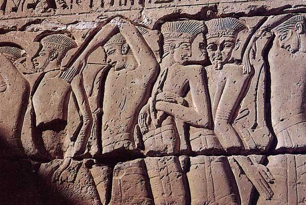 Les Peuples de la Mer. Medinet Habou