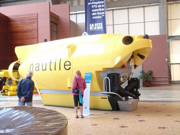 Des objets sous-marins non identifiés Nautile-1