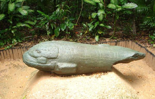 Sculpture Olmeque. La Venta