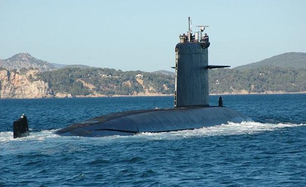 Des objets sous-marins non identifiés Sous-marin