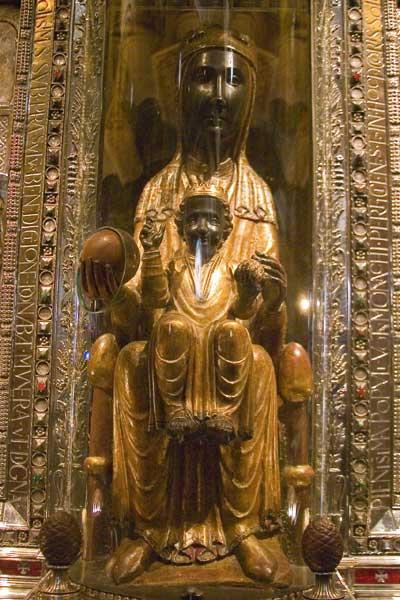 Vierge noire de Montserrat