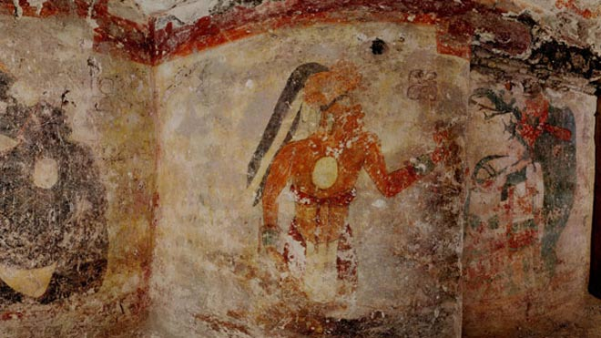 Peinture murale de Xultun