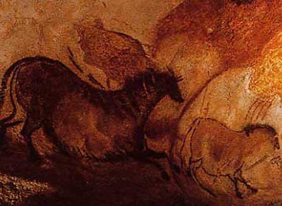 Chevaux de la grotte de Lascaux
