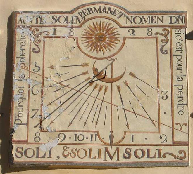 histoire du cadran solaire