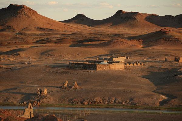 Desert de Gobi . En Images. Dinosoria
