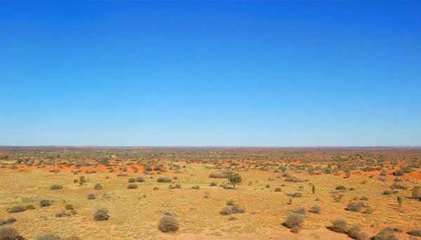 Photos des lieux Simpson-desert