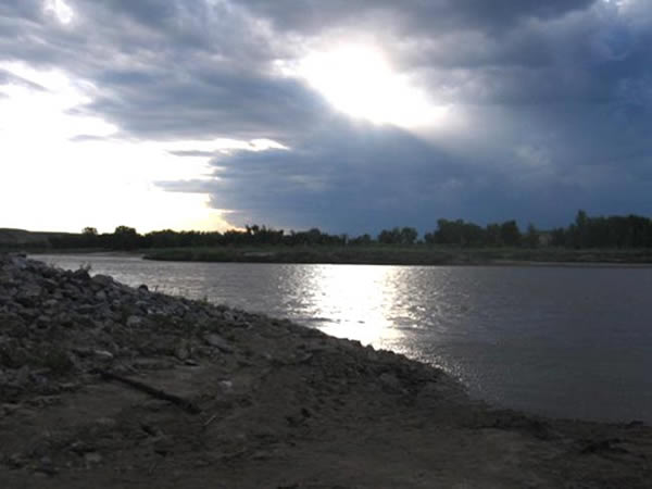 Red Deer River. Alberta