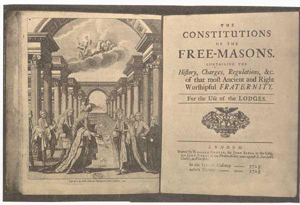 Les Constitutions de James Anderson
