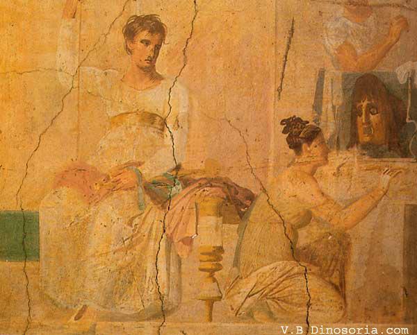 Rome antique. Actteurs
