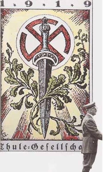 Les armes du groupe Thulé en 1919
