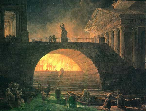Neron. Grand Incendie de Rome