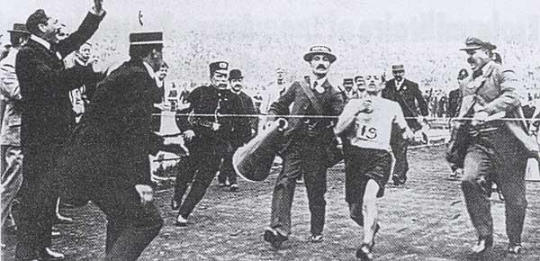 Le sport en 1900 Jo_1908_02