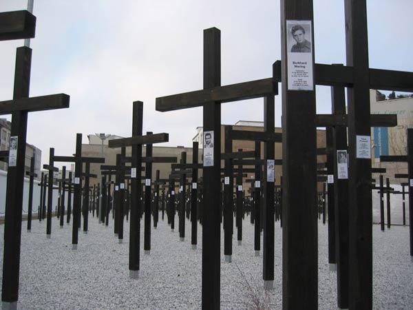 Memorial pour les victimes du Mur de Berlin