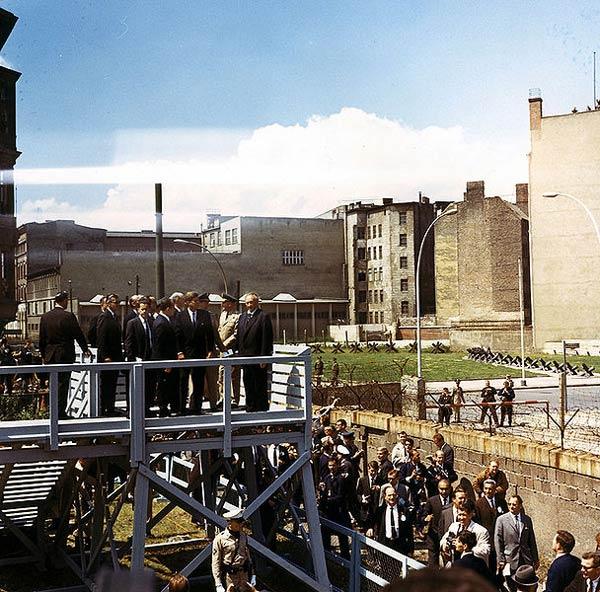 Mur de Berlin en 1963