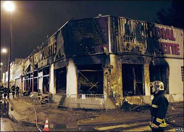 émeutes 2005 à Paris