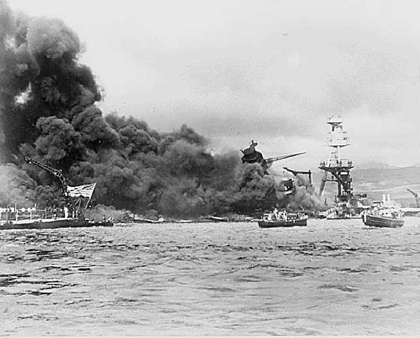 Pearl Harbor. USS Arizona