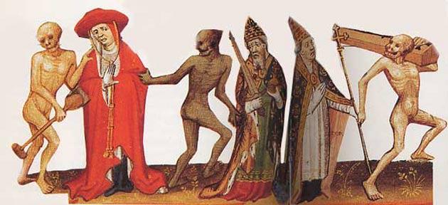 """Résultat de recherche d'images pour """"grande peste 1348 danse macabre"""""""