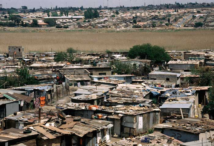 Soweto Slum South Africa