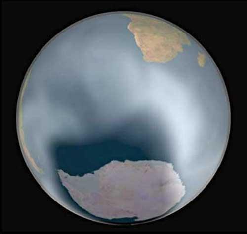 La couche d'ozone ne diminue plus