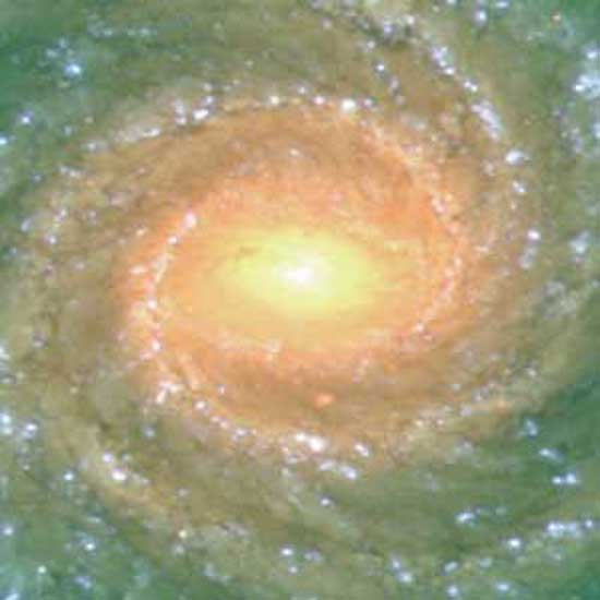 Galaxie spirale NGC 1232