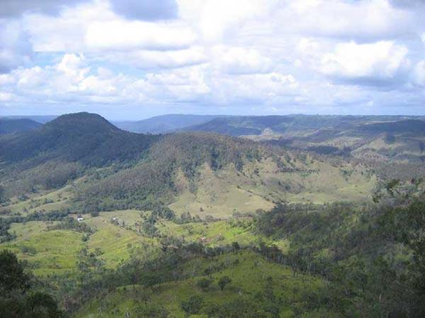 Parc    National de Lamington en Australie
